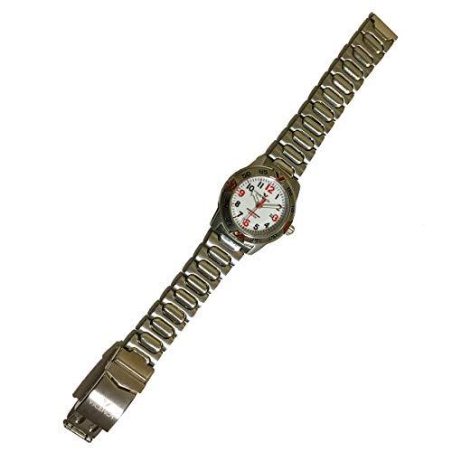 Viceroy 40253-04 Reloj de Pulsera con Caja y Cadena de Acero Inoxidable, Calendario y Resistente al Agua hasta 100 Metros