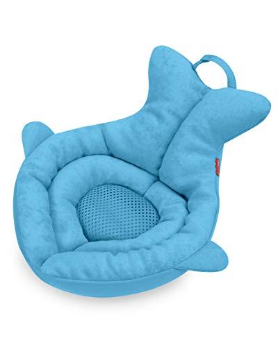 Skip Hop Baby Bath Tub: Moby Newborn Softspot Sink Bather, Blue