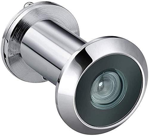 Türspion Guckloch, Lengthen 200 Grad-Tür-Projektor Privacy-Abdeckung for 55-90mm Thick Türen Sicherheits-Ausgang Tür Auge Viewer 1~3pcs für Zuhause (Color : Bright Light x3pcs)