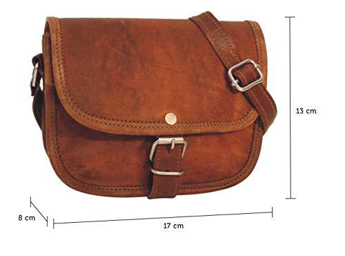 41HzcmTX JL - Gusti Bolso Nature - Bolso Bandolera de Piel Pequeno Bolso Vintage (L)
