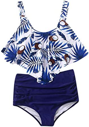 RAISINGTOP Ladies Push up Padded Bra Sexy Swimwear Two Pieces Bohemia Print Bikini Set Swimsuit product image