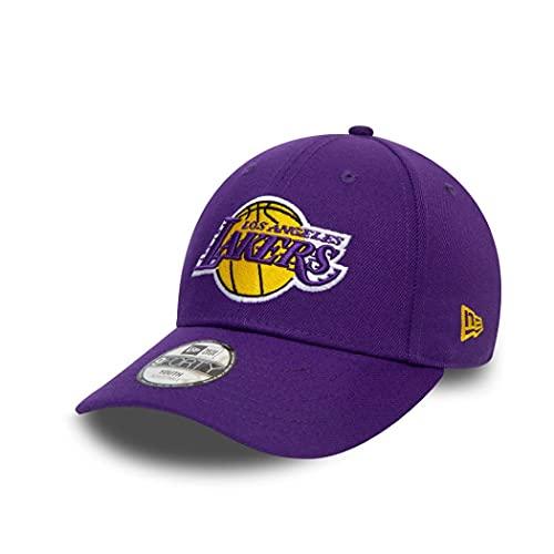 New Era Los Angeles Lakers cap NBA 9Forty Basecap verstellbar Kinder Basketball Kappe Lila - Youth