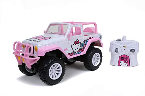 Hello Kitty 1:16 Jeep Remote Control Car 2.4GHz Pink, Toys for Kids and Adults