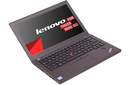 Preisvergleich Produktbild Lenovo ThinkPad X270 i5 (7.Gen) 12 Zoll HD 16 GB RAM 500GB NVMe SSD Kamera Backlight Tastatur Win10 Prof. - Subnotebook (Generalüberholt)