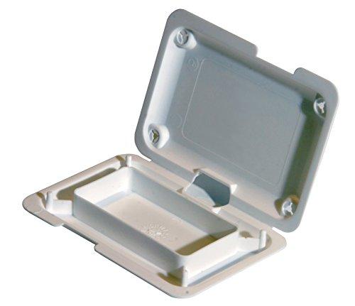 15x Briefeinlage schwarz | x-Press-Box Kleinteile-Verpackung Etui Versandmuschel Versandbox shipping box | Innenmaße in mm [LxBxH]: 62x31x10