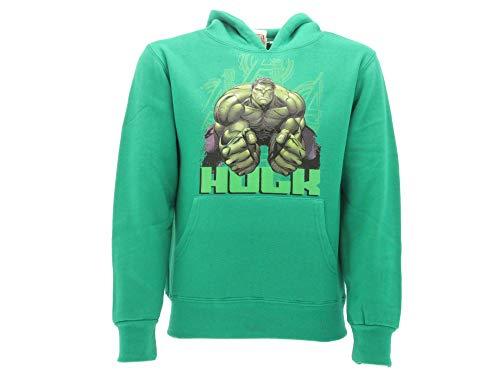 hulk Marvel Felpa Taglia 5-6Anni Verde Originale Avengers Felpa Bambini Avengers