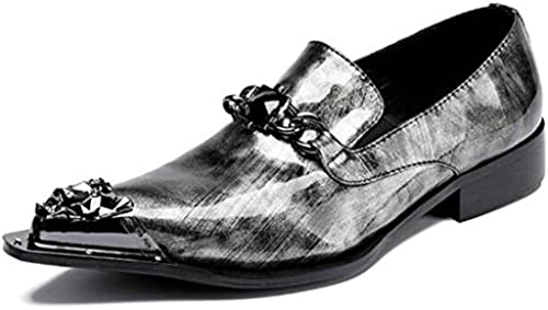 Männer Schuhe Lackleder Western Metall Toe Cowboy Loafers Loafers Loafers wies Business Formale Party Club Größe 38 bis 45  rücksichtsvoller Service