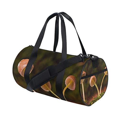 FAJRO Süße kleine Pilz-Reisetasche für Herren