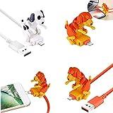 Funny Humping Dog Fast Charger Cable, Stray Dog Charging Cable, Dog Toy Smartphone Cargador De Cable Usb, Adecuado Para Varios Modelos De TeléFonos MóViles (iPhone, naranja)