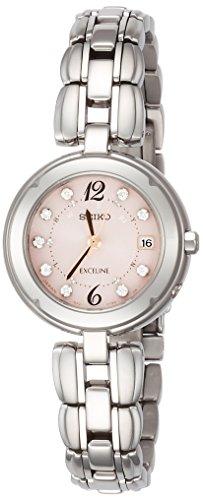 [セイコーウォッチ] 腕時計 エクセリーヌ チタンソーラー電波 SWCW123 シルバー
