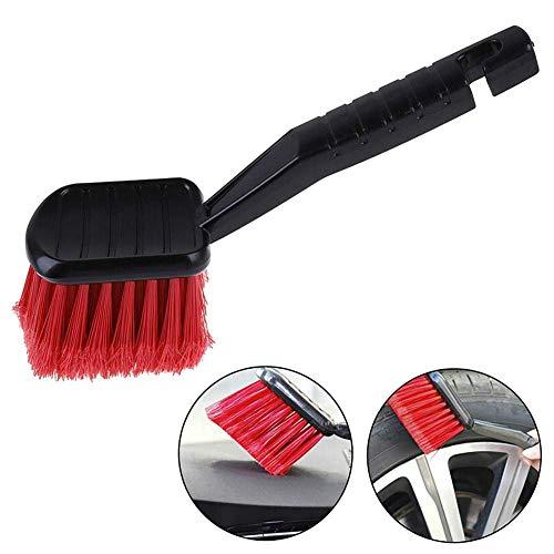 Preisvergleich Produktbild lqgpsx Motorradreinigungsbürste Radreinigungsbürste mit Griff Teppichreinigungsbürste Reinigungswerkzeug