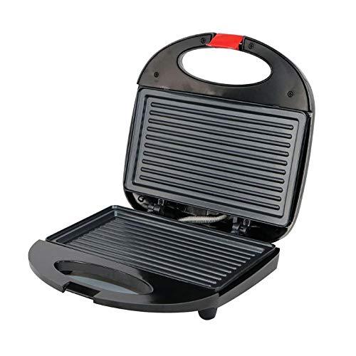 Sandwichmaker Waffeleisen,Ultrakompakter Sandwich-Toaster,Streifen Sandwich Maker Grill Antihaftbeschichtung doppelseitige Heizung Haushaltsbackgeräte