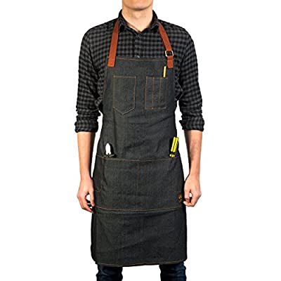 Vulcan Workwear Utility Apron - Multi-Use Shop Apron with Pockets