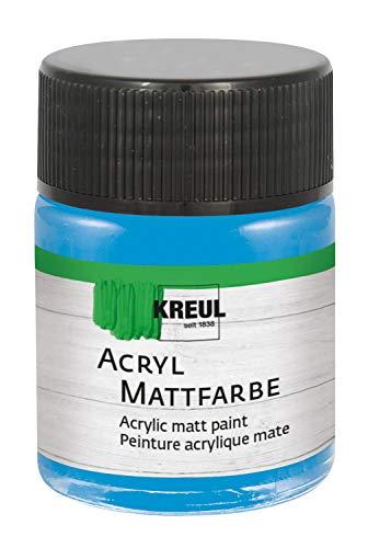 Acryl Mattfarbe Hellblau 50 ml