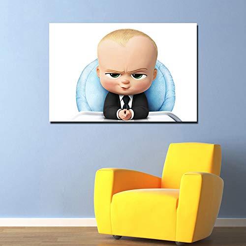 UHvEZ 1000_ Puzzle di Legno per Bambini Boss Baby Movie Giocattoli educativi Colori Vivaci Regali di Compleanno Decorazione della casa 50x75cm