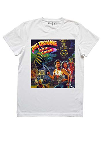 Pressyou T-Shirt - Grosso Guaio a Chinatown - Big Trouble - by 00411 (m Donna)