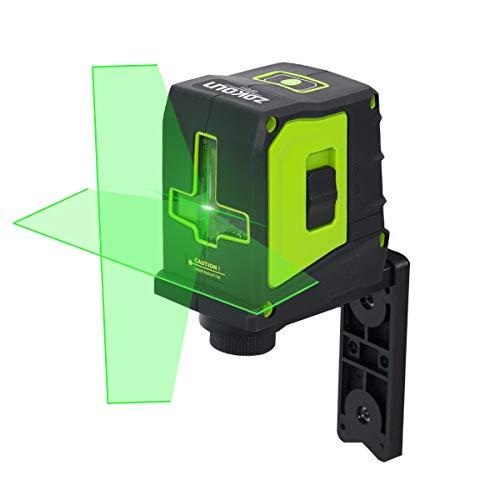 Niveau laser vert Zokoun, ligne transversale autonivelante, grand angle de ventilateur 110 ligne...