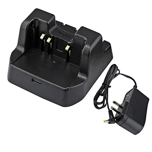 abcGoodefg 2 Way Radio Battery Charging Dock Desktop Rapid Charger for Yaesu Vertex-Standard