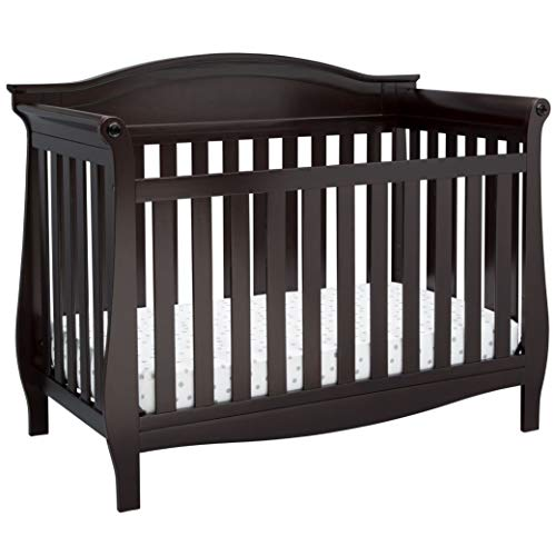 Delta Children Lancaster 4-in-1 Convertible Crib - Dark Chocolate