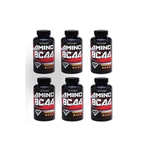 BIOLAB Tech - 6 Confezioni Aminoacidi Amino Bcaa 2:1:1 In Compresse, 6 x 450 compresse