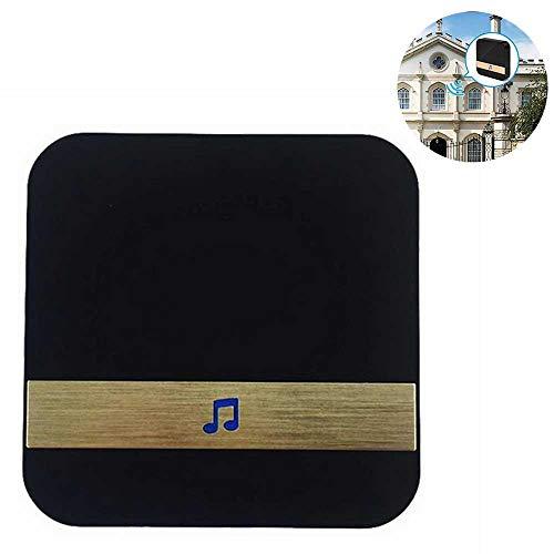 KOBWA Tür-Klingel, Drahtloser Tür-offener Glockenspiel-Tür-Eintritts-Alarm-magnetischer Tür-Klingel-Sensor besonders benutzt Video-Türklingel 433MHz