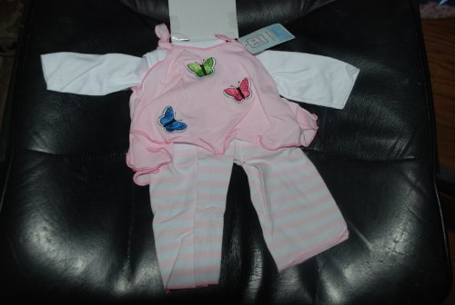 Pink Flutter Doll Outfit By Lee Middleton -  Lee Middleton Doll Company