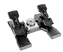 Smooth and accurate self-centering rudder pedals add another layer of realistic control to your flight simulation setup Whether you prefer the lighter response of a small aircraft or the more robust feel of a heavy jet, a simple twist of the Adjustab...