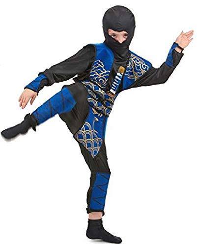 Déguisement ninja bleu garçon - 10 - 12 ans (L)