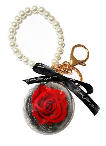 Exporee Rosa Eterna Fatta a Mano Rosa Stabilizzata Confezione Regalo Rose Mai Appassite Fiore Eterno per Amante Regalo per lei San Valentino Festa della Mamma Compleanno o Natale
