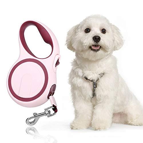 YINULA - guinzaglio per cani allungabile, flexi guinzaglio, guinzaglio lungo 5 metri, guinzaglio regolabile per cani