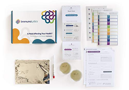 ImmunoLytics DIY Mold Test Kit for Home - Easy to Use Professional Testing Kit - Individual Room Screening Package - Includes Lab Analysis (1 Room/Plate)