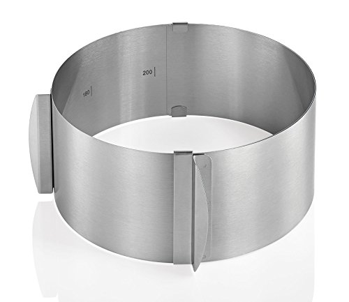 Küchenprofi 0805832800 - Aro Circular para Tartas Regulable (h.nr.)