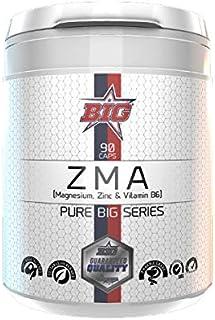 Pure BIG Series ZMA (Magnesium Zinc Vitamin B6) - 90 caps.
