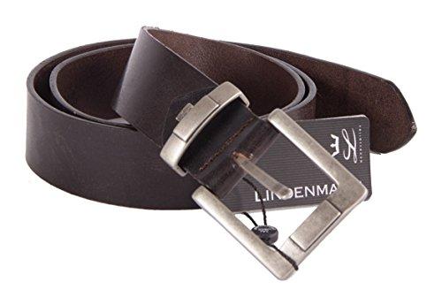 1A! LINDENMANN - Ceinture En Cuir Lindenmann - 105 - Dark Brown