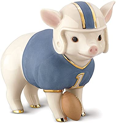 Touchdown Tommy Pig Figurine by Lenox
