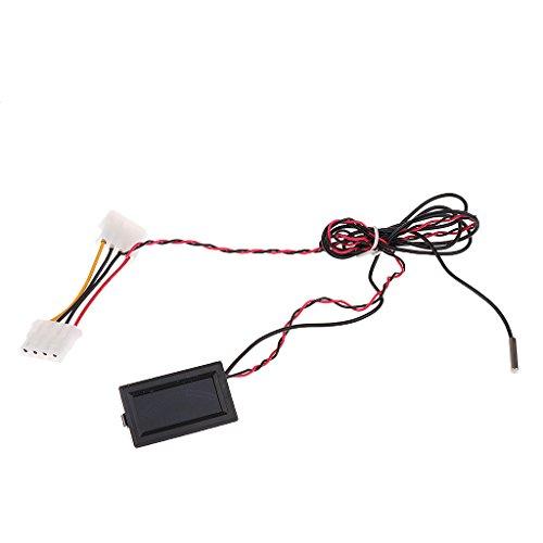 Digital Temperatur Thermometer Messgerät C/F PC MOD