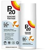 P20 ®   Crème solaire enfant   Creme Solaire spf 50 enfant à très haute résistance à l'eau pour une protection fiable contre les rayons UVA et UVB   Format crème   200 ml