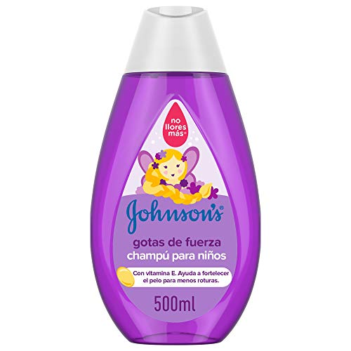 Johnson's Baby Gotas de Fuerza Champú para Niños, 500 ml