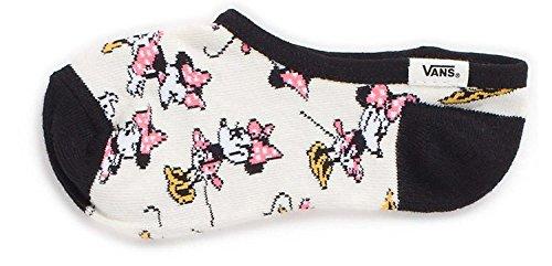 Vans Women's Disney Canoodles Minnie Mouse Girl's Sock Size 1-6 (Shoe 1-6)