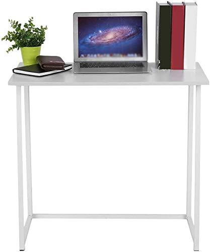 Independiente estantería con estantes y bandejas, modernas y de estilo rústico escritorio de la computadora de oficina,E