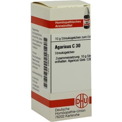 AGARICUS C 30 Globuli 10 g
