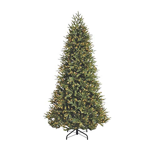 NOMA 7.5-Foot Piedmont Fir Christmas Tree with Lights | 1000 Warm White Embedded Micro-Brite LED Lights | 2793 Tips