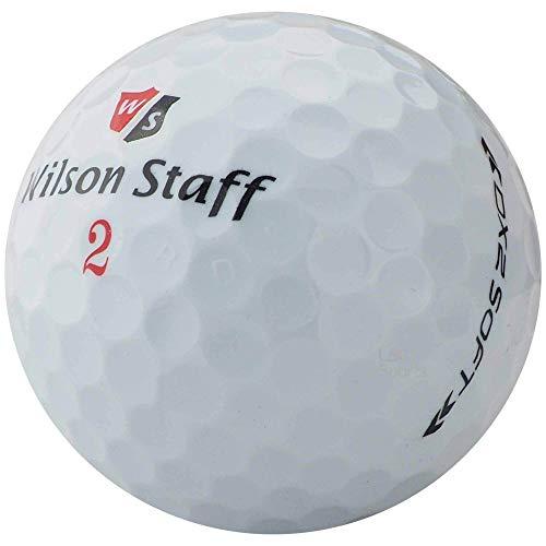lbc-sports 50 Wilson DX2 / Duo Soft Golfbälle Modell 2019 - AAAAA - weiß - Lakeballs - PremiumSelection - gebrauchte Golfbälle - DX 2 WIE NEU