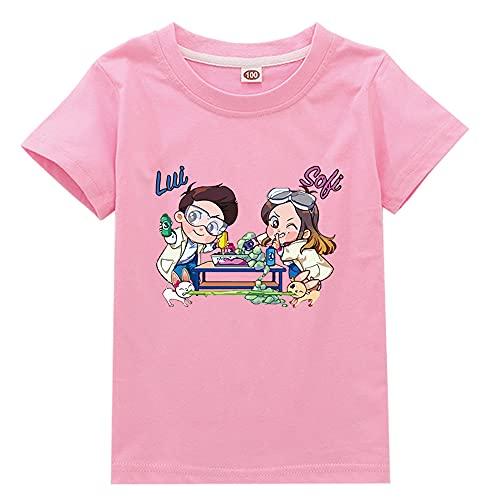 Holyeagle Maglietta Cartone Animato per Bambini.Magliette Comode per Ragazzi E Ragazze,Maniche Corte Estive