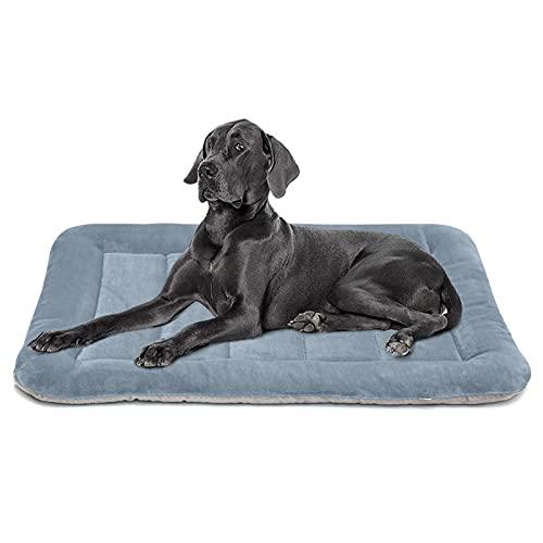 Hero Dog Large Dog Bed Crate Pad Mat 42 Inch Washable Matteress Anti Slip Cushion for Pets Sleeping
