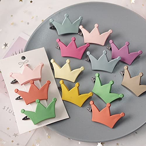 2pcs lot Candy Color Star Heart Children Cu Hair Max 60% OFF Bow Clip Spring new work one after another Flower