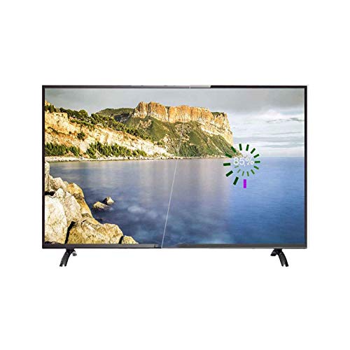 ZFFSC TV de Calidad HD 4K Ultra HD HDR LED LCD Smart TV, 32/42/50/55 Pulgadas, transmisión de Pantalla inalámbrica, WiFi de Doble Banda, con Soporte de Pared y Base TV de Calidad HD