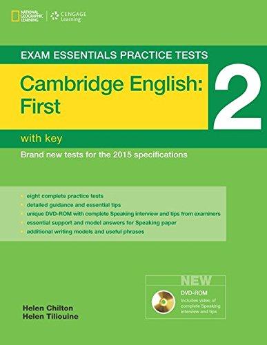 Exam Essentials Practice Tests: Cambridge English: First (FCE) - Practice Tests 2: Practice Tests with Key and DVD-ROM