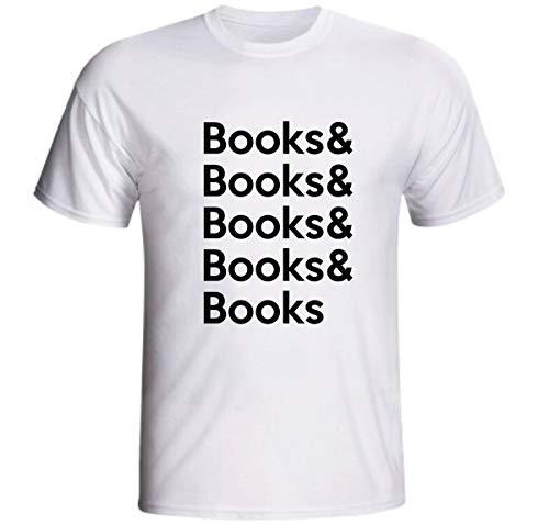Camiseta Books & Books Livros Amo Ler Leitura