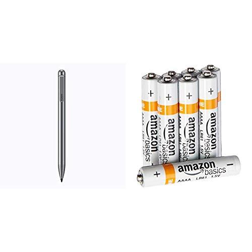 HUAWEI Creative Capacity Pen für Mediapad M5 Lite 10 Zoll Grau & AmazonBasics Batterien Alkali, AAAA, 8 Stck